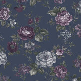 Graham & Brown Muse French Navy Wallpaper - Product code: 103506