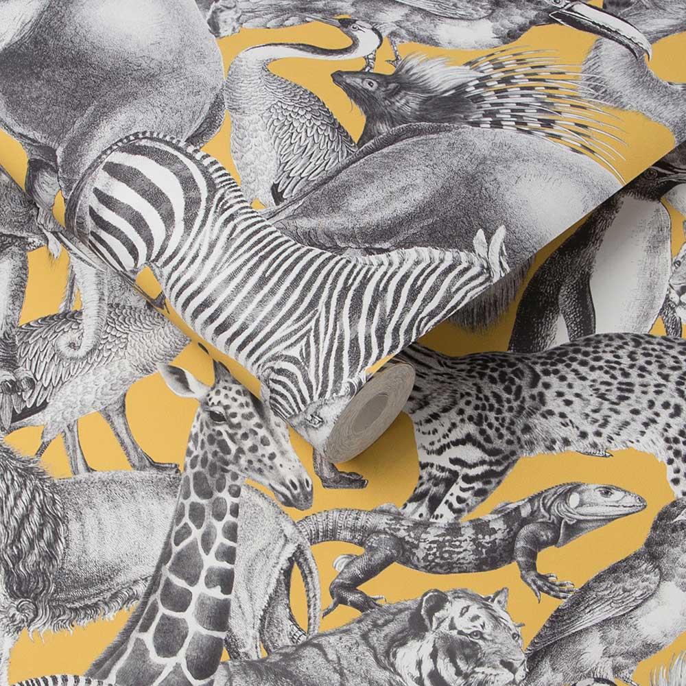 Kingdom Wallpaper - Lion - by Graham & Brown