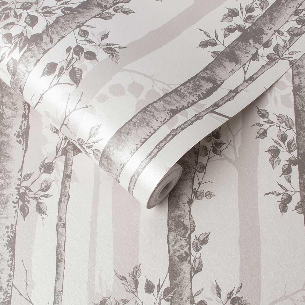 Graham & Brown Albero Taupe Wallpaper - Product code: 106421