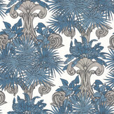 Laurence Llewelyn-Bowen Latin Quarter Blue Wallpaper - Product code: LLB6001