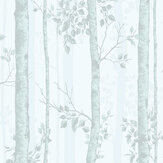 Graham & Brown Albero Duck Egg Wallpaper - Product code: 106422