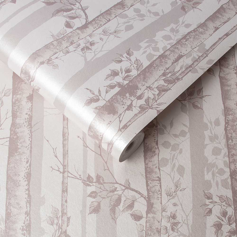 Graham & Brown Albero Blush Wallpaper - Product code: 106423