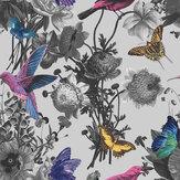 Graham & Brown Jardin Grey Wallpaper - Product code: 106430