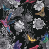 Graham & Brown Jardin Black Wallpaper - Product code: 106431