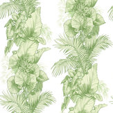Laurence Llewelyn-Bowen Club Tropicana Light Green Wallpaper - Product code: LLB6004