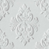 Graham & Brown Stone Damask Grey Wallpaper - Product code: 106440