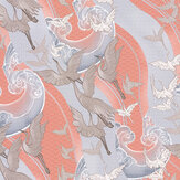 Laurence Llewelyn-Bowen Craney Day Coral Wallpaper - Product code: LLB6013