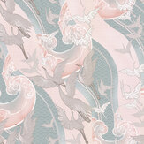 Laurence Llewelyn-Bowen Craney Day Blossom Pink Wallpaper - Product code: LLB6016