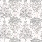 Laurence Llewelyn-Bowen Copacabana Black / White Wallpaper - Product code: LLB6017