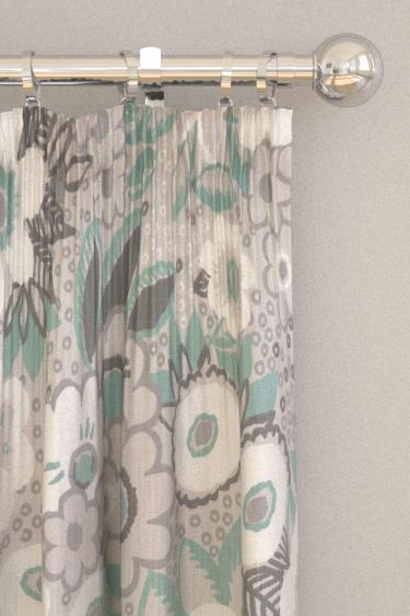 Blendworth Jungle Gardenia Grace Curtains - Product code: BAZJUN1906