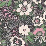 Blendworth Jungle Gardenia Paloma Fabric - Product code: BAZJUN1907
