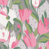 Blendworth Tulip Reign Angelica Fabric - Product code: BAZTUL1918