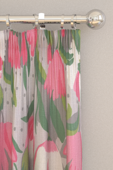 Blendworth Tulip Reign Angelica Curtains - Product code: BAZTUL1918
