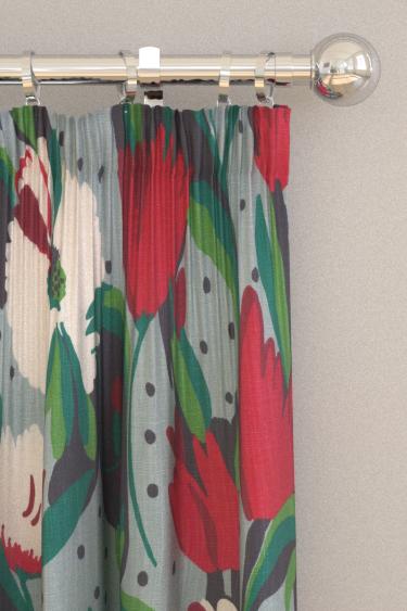 Blendworth Tulip Reign Persephone Curtains - Product code: BAZTUL1920