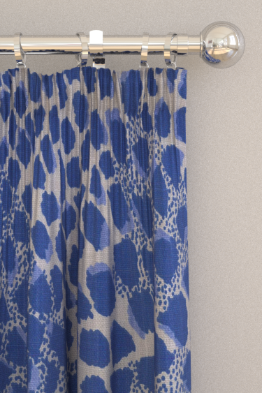 Blendworth Paws Cobalt Curtains - Product code: BAZPAW1909