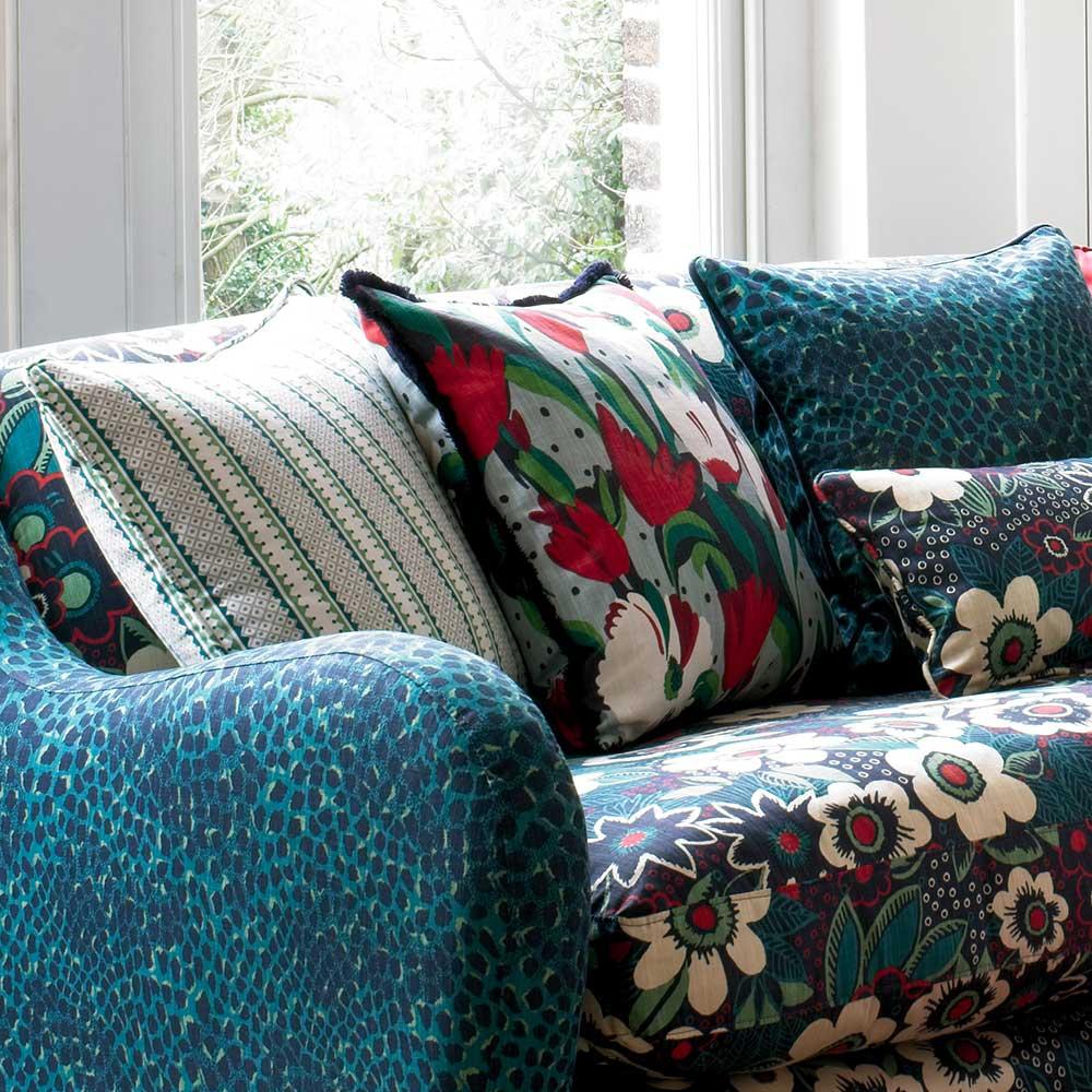Blendworth Rialto Privet Fabric - Product code: BAZRIA1916