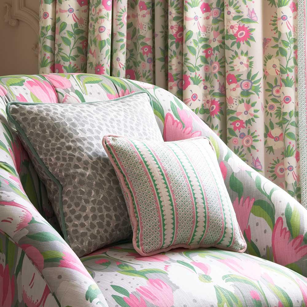 Blendworth Bella Japonica Fabric - Product code: BAZBEL1902