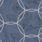 Graham & Brown Aqueous Geo Cobalt Wallpaper - Product code: 105757