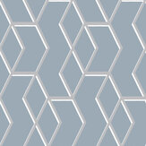 Graham & Brown Archetype Blue / Silver Wallpaper - Product code: 104733