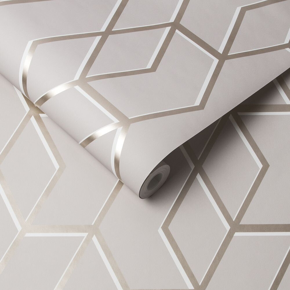 Archetype Wallpaper - Natural - by Graham & Brown