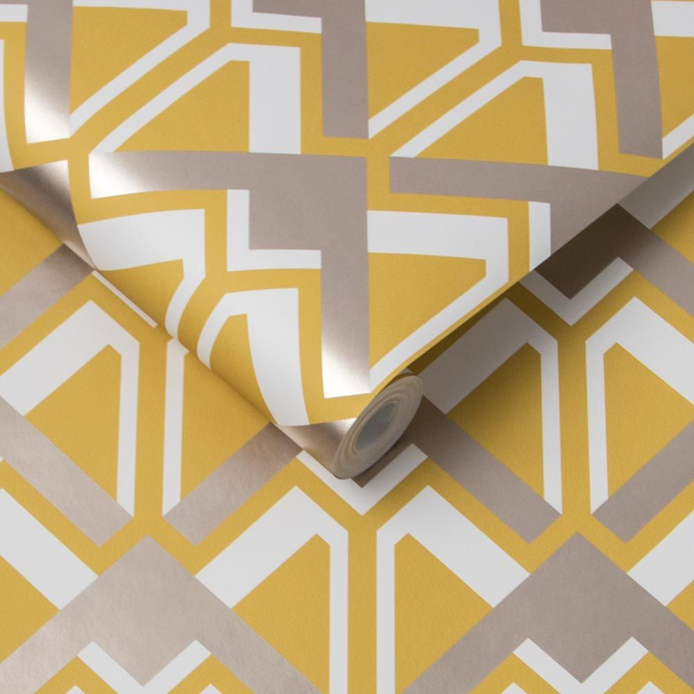 Beau Wallpaper - Dazzle - by Graham & Brown