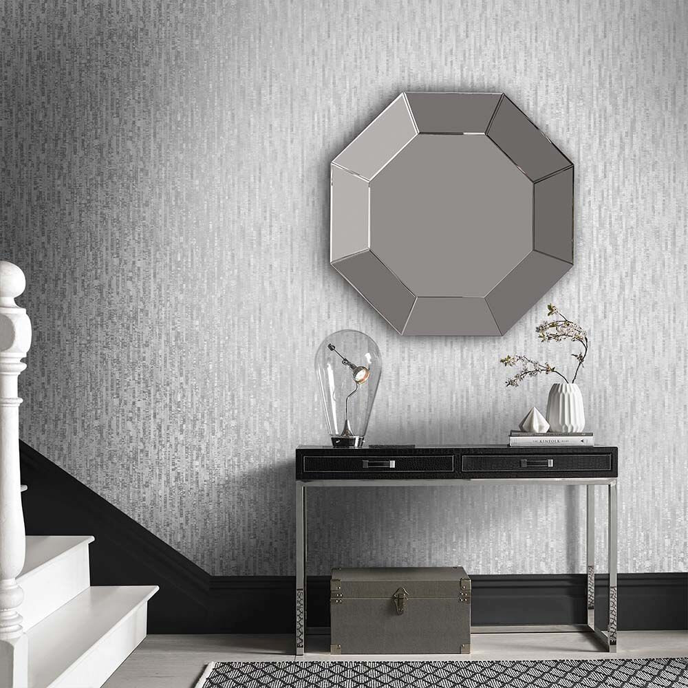Graham & Brown Betula Silver Wallpaper - Product code: 105105