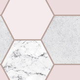 Graham & Brown Earthen Rose Quartz Wallpaper - Product code: 106344