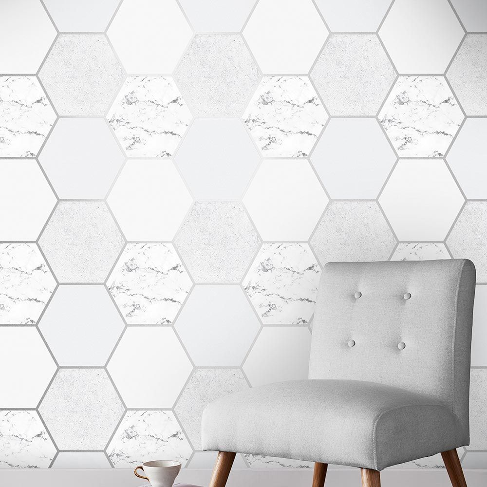 Graham & Brown Earthen Grey Wallpaper - Product code: 106345