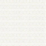 Graham & Brown Echo Pearl / Gold Wallpaper - Product code: 105778