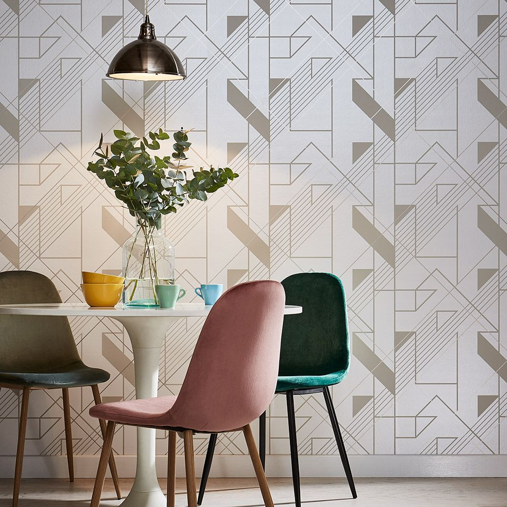 Graham & Brown Graphic Parchment Wallpaper - Product code: 105243