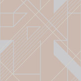 Graham & Brown Graphic Blush Wallpaper - Product code: 105244