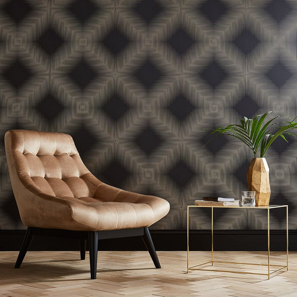 Graham & Brown Optical Pitch Wallpaper - Product code: 105251