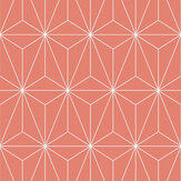 Graham & Brown Prism Orange Wallpaper - Product code: 104739