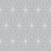 Graham & Brown Prism Silver Wallpaper - Product code: 104740
