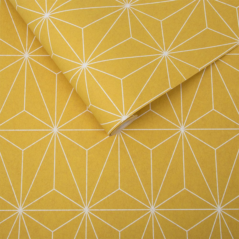 Graham & Brown Prism Yellow Wallpaper - Product code: 104741