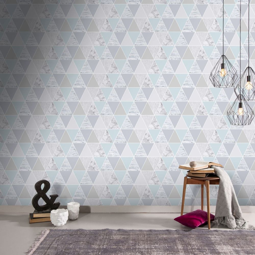 Graham & Brown Reflections Mint Wallpaper - Product code: 103291