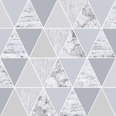 Graham & Brown Reflections Silver Wallpaper - Product code: 103292
