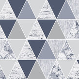 Graham & Brown Reflections Blue Wallpaper - Product code: 105906