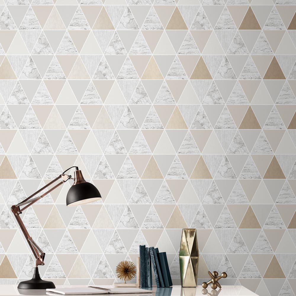 Graham & Brown Reflections Natural Wallpaper - Product code: 105908