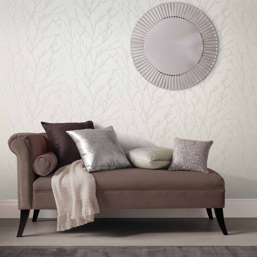 Graham & Brown Woodland Pearl Bead Wallpaper - Product code: 105163