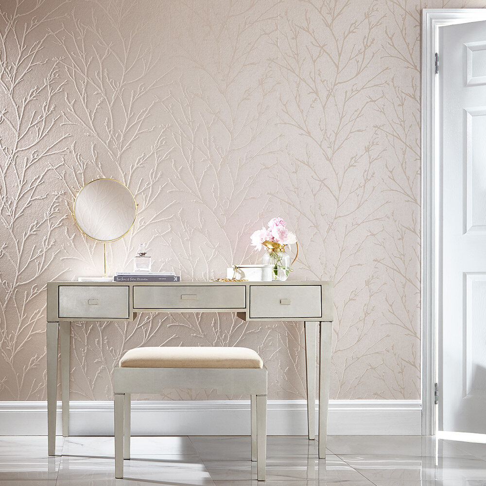 Graham & Brown Woodland Spring Bead Wallpaper - Product code: 105164