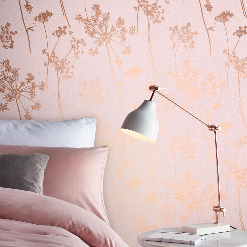 Graham & Brown Anthriscus Blush Wallpaper - Product code: 105580