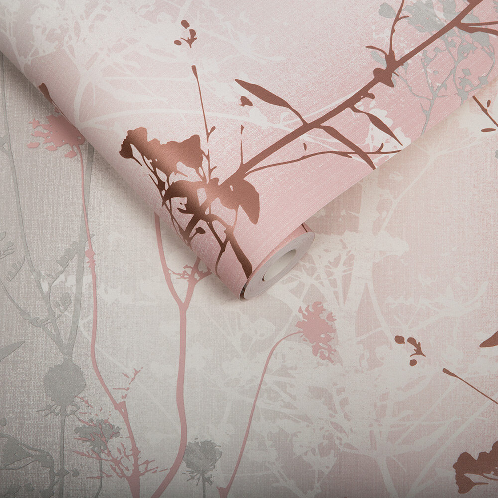 Graham & Brown Wildflower Blush Wallpaper - Product code: 104071