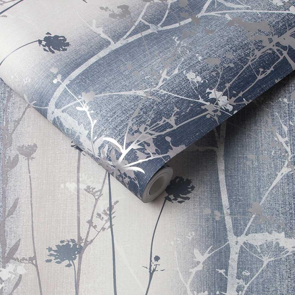 Graham & Brown Wildflower Ink Wallpaper - Product code: 105896