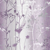 Graham & Brown Wildflower Plum Wallpaper - Product code: 105897
