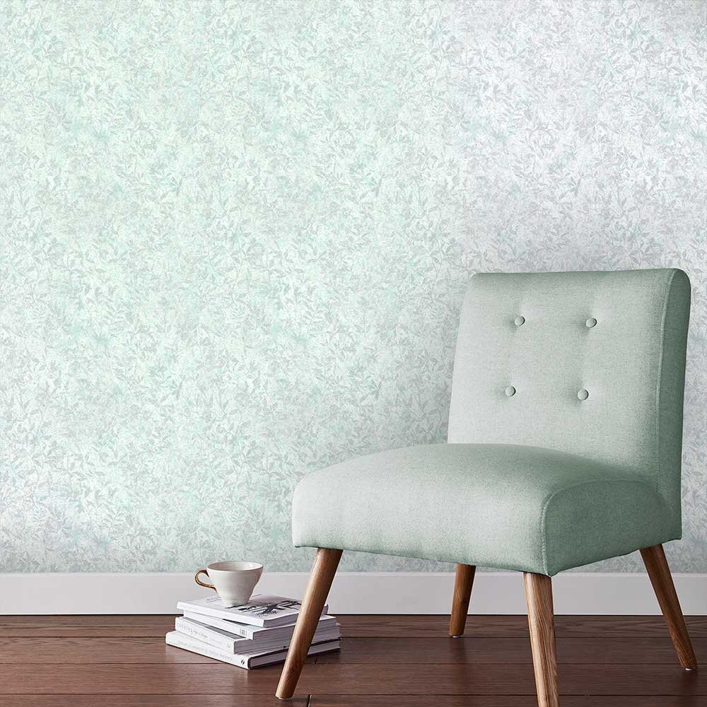 Botany Wallpaper - Green - by Graham & Brown