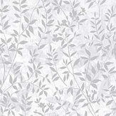 Graham & Brown Botany Silver Wallpaper - Product code: 105118