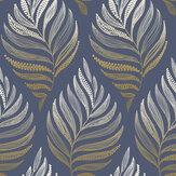 Graham & Brown Botanica Midnight Wallpaper - Product code: 105454
