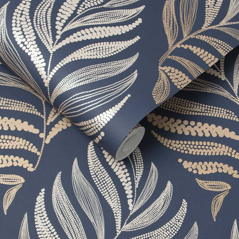 Graham & Brown Botanica Midnight Wallpaper - Product code: 105454