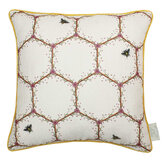 The Chateau by Angel Strawbridge The Chateau Honeycomb Cushion Cream - Product code: HON/CRE/04545CC